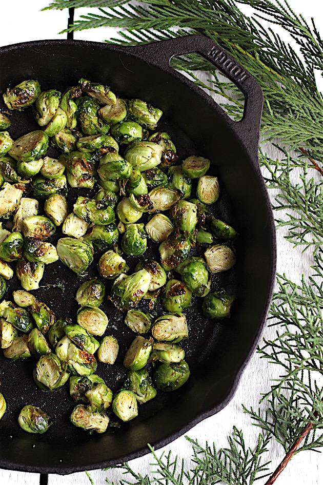 Weeknight Brussels Sprouts | Savor Home