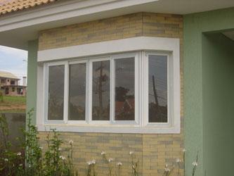 23- Modelo de janela bay windows de PVC!