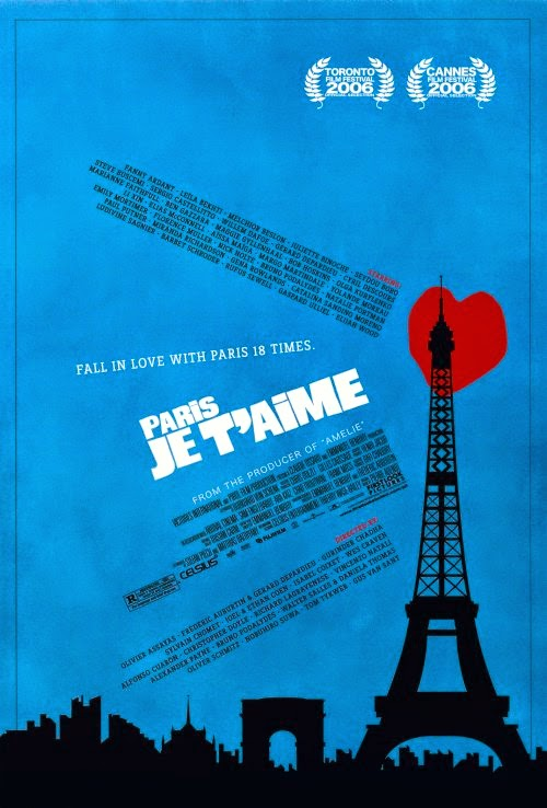 Paris, je t'aime film cover