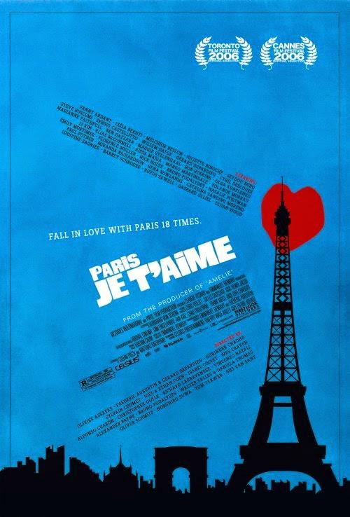 Paris, je t'aime film cover