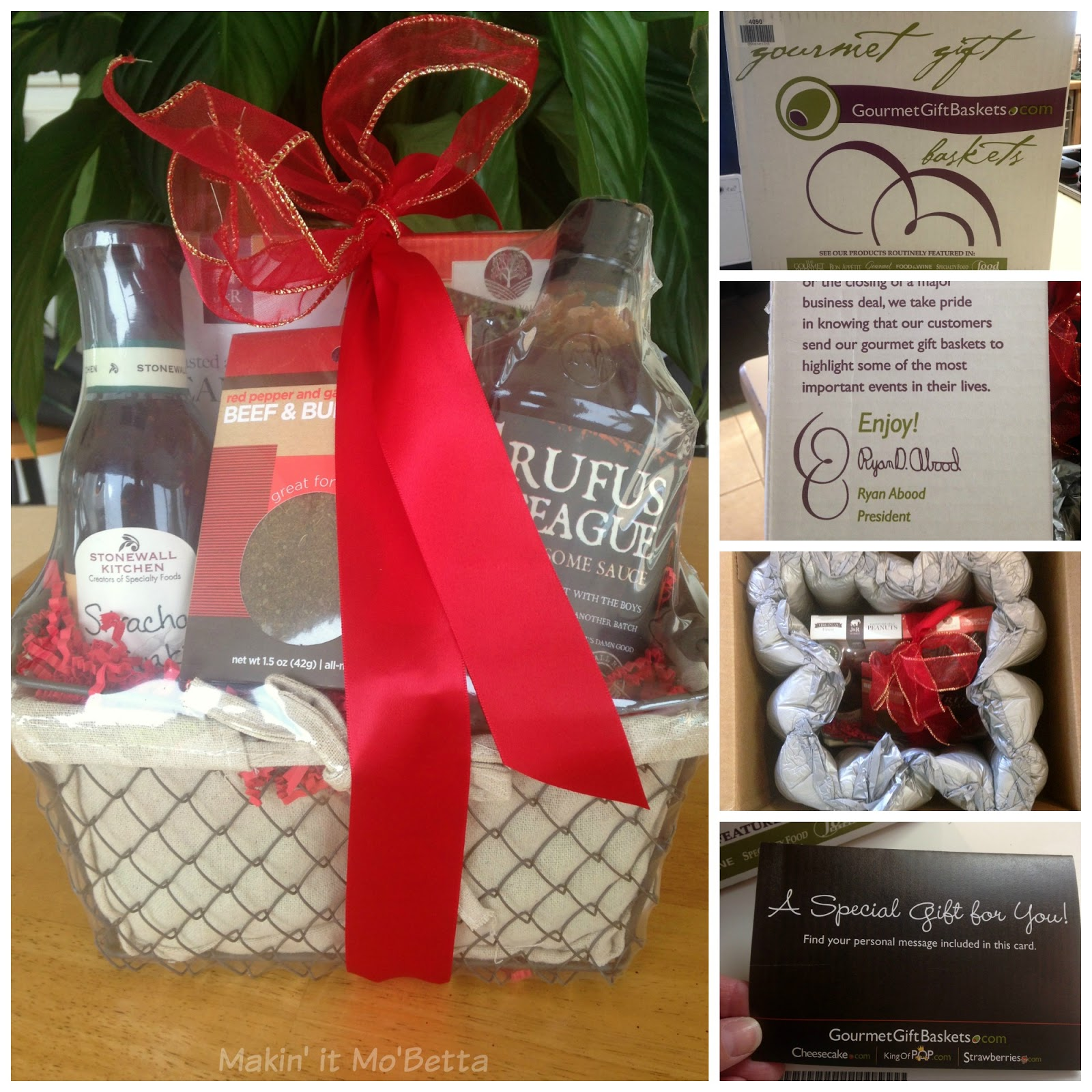 Gourmet Gift Baskets Review & GIVEAWAY! #sponsored – Makin\' it Mo\'Betta