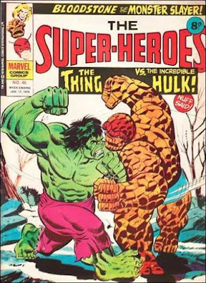 Marvel UK, Super-Heroes #46, Hulk vs Thing