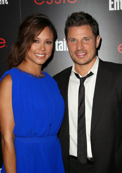 Touching words after birth | 1. Daughter is here: Nick Lachey  & Vanessa Lachey in luck