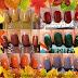 L'autunno sulle unghie: Swatches di alcuni smalti dai colori autunnali.