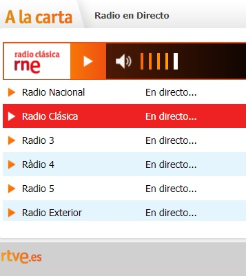 Escucha Radio Clásica de RNE