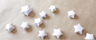 Cara membuat origami bintang mini