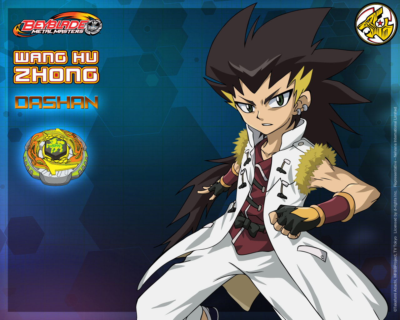 BEYBLADE METAL MASTERS - PRISTOIC
