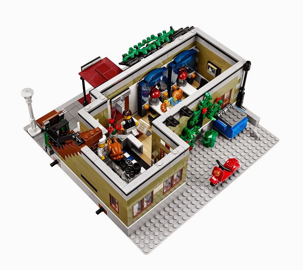 La cuisine et l'intérieur du 1er