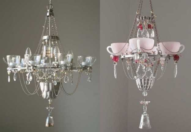 how to recycle elegant lookin recycled chandeliers