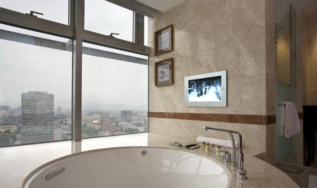 Fancy Bathroom Design Ideas For Raysgem Bathroom Tv