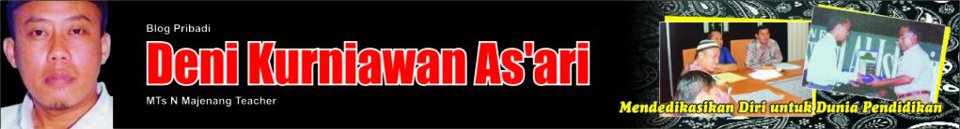 artikel, pendidikan, majenang, MTS Majenang, Cilacap, dedikasi, makalah, gru, pendidik