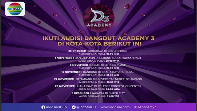 Audisi  D'Academy 3 Indosiar