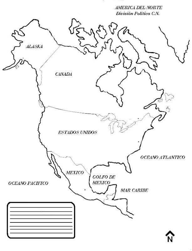 Mapa De America Del Sur Para Pintar