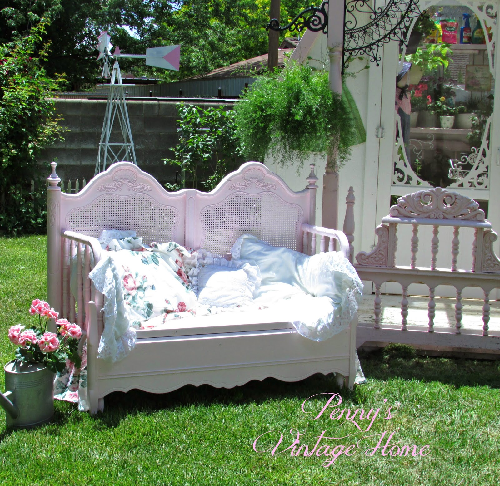 Bench Out Of Headboard Pennys Vintage Home Headboard Bench