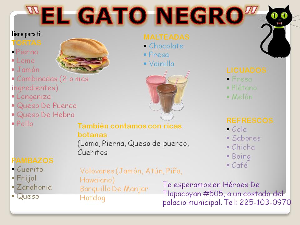 """""""EL GATO NEGRO"""""""