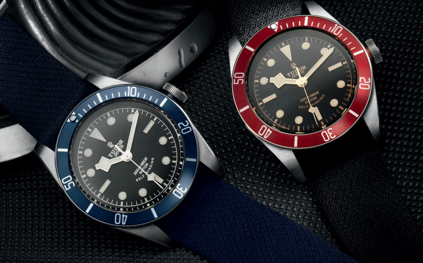 TUDOR HERITAGE BLACK BAY RED Y BLUE