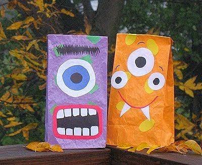 Idées de Décoration pour Halloween avec des Matériaux Recyclés