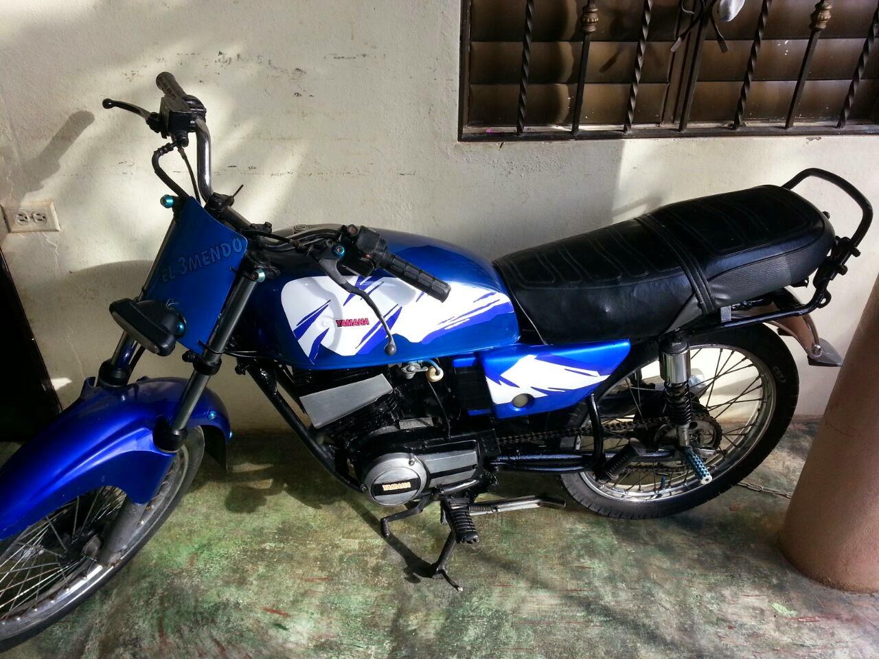 A LA VENTA MOTOR RX100