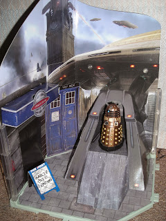 The Dalek Invasion Time Zone playset