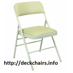 Cosco Folding Chairs with Vinyl Seat