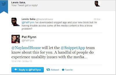 Lewis Saka and Pat Flynn Twitter Exchange