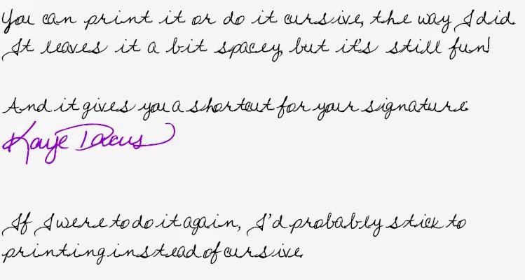 Handwriting Font Generator