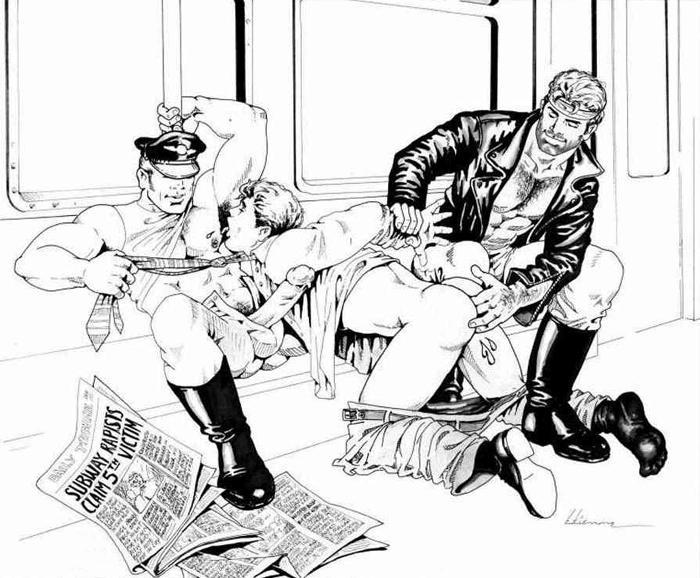 Эротика полицейская маньяк на живца