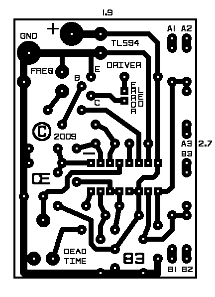 12v dc switch mode power supply circuit diagram