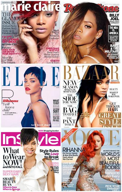 Portadas Revista Rihanna