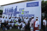 World Heart Day: Columbia Asia Hospitals organizes Walkathon