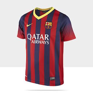 Camiseta oficial del barcelona 2014