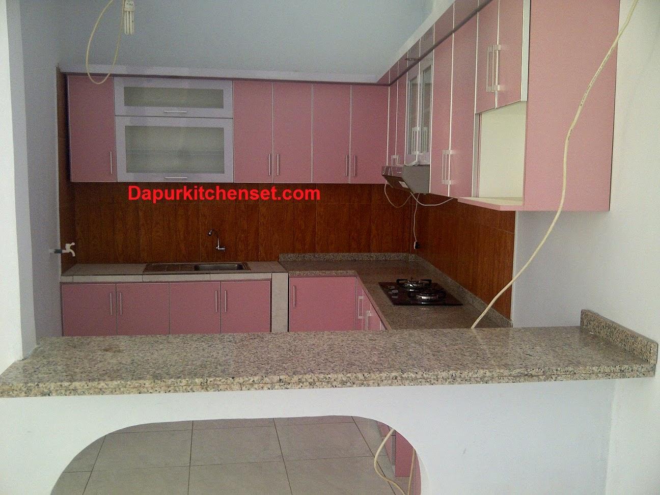 Jasa kitchen set bekasi murah for Beli kitchen set jadi