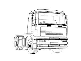 Free Truck Coloring Pages For Kids