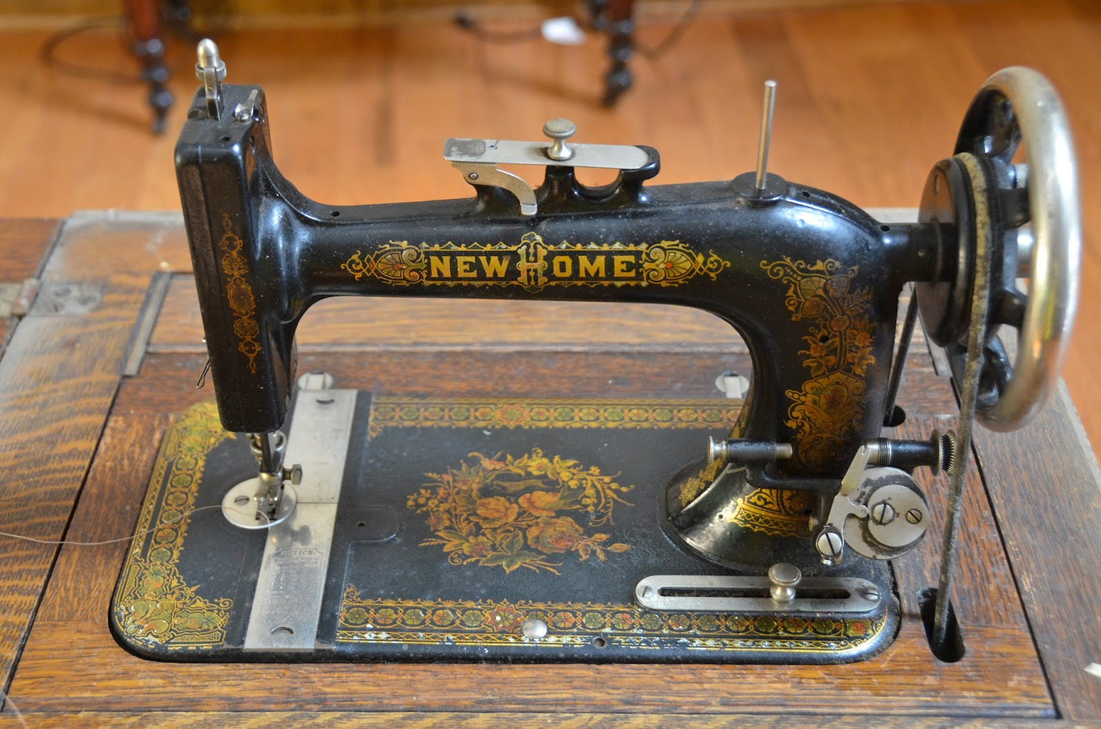 New Home Sewing Machine Serial