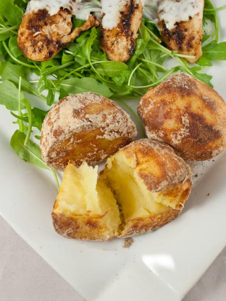 ziemniaki pieczone w skorupce
