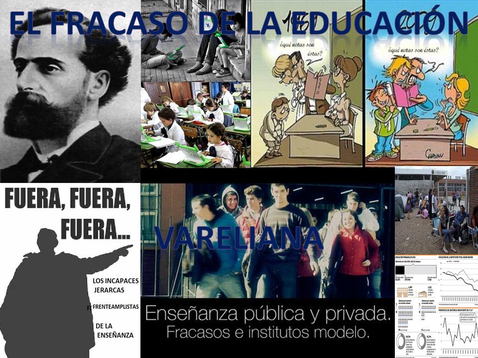 Varela=Fracaso educativo