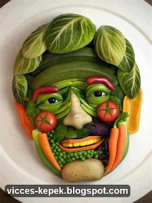 zöldségfej