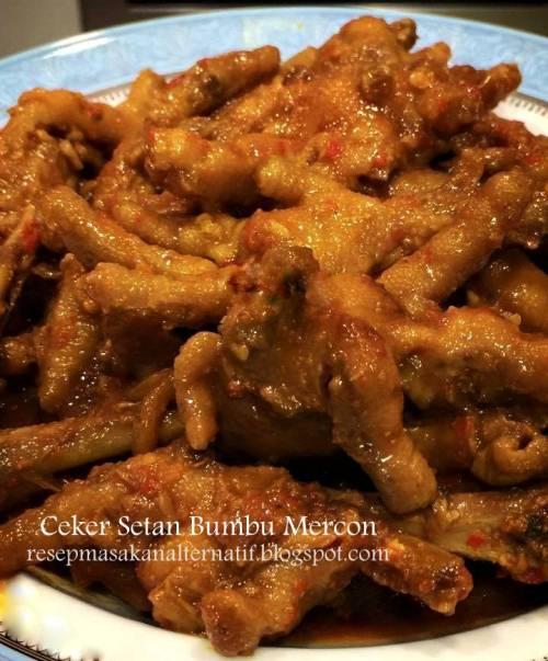 Image Result For Resep Masakan Ayam Ceker Pedas
