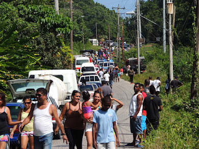 ACCIDENT ON THE ROAD TO TOCO, TRINIDAD