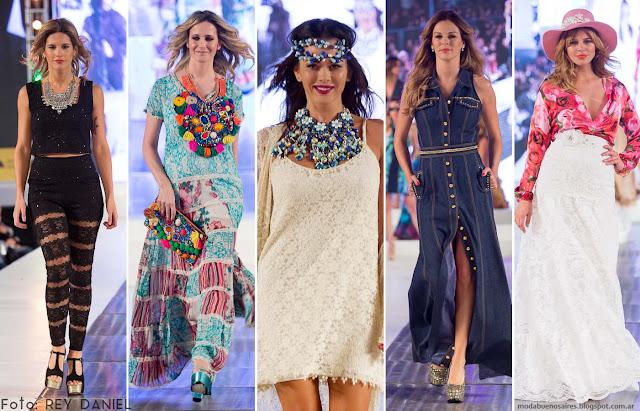 Moda Look Buenos Aires primavera verano 2016. Moda 2016.