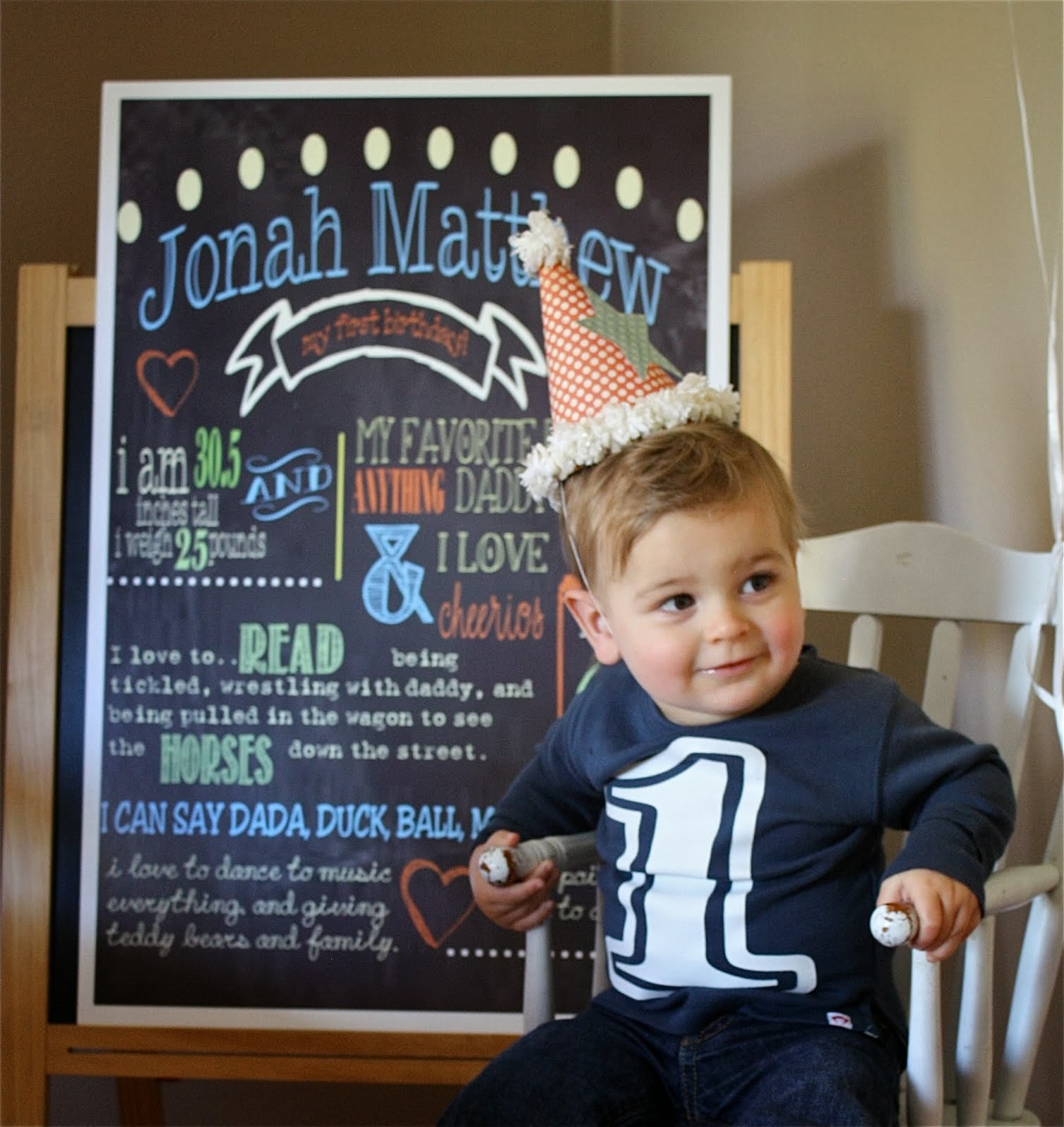 Jonah, Our little bossman