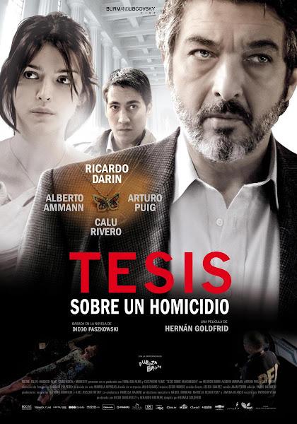 Tesis sobre un homicidio DVDRip Español Latino