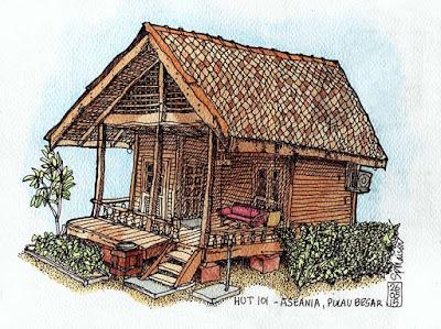 Hut 101 - Aseania Beach Resort, Pulau Besar