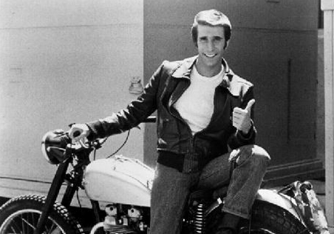Caferacers RnR and more stuff I like: The Fonz Fearless ...