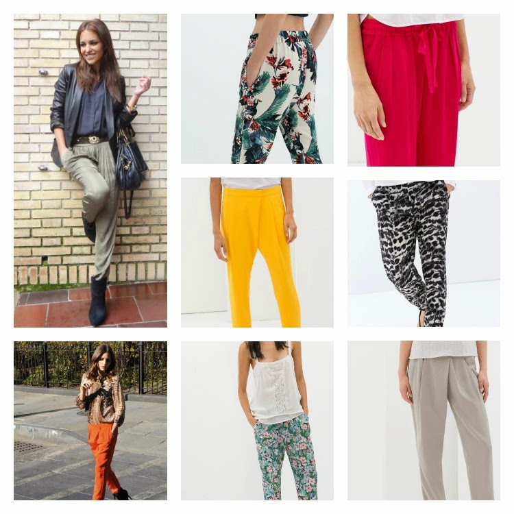 pantalones baggy primavera verano 2014