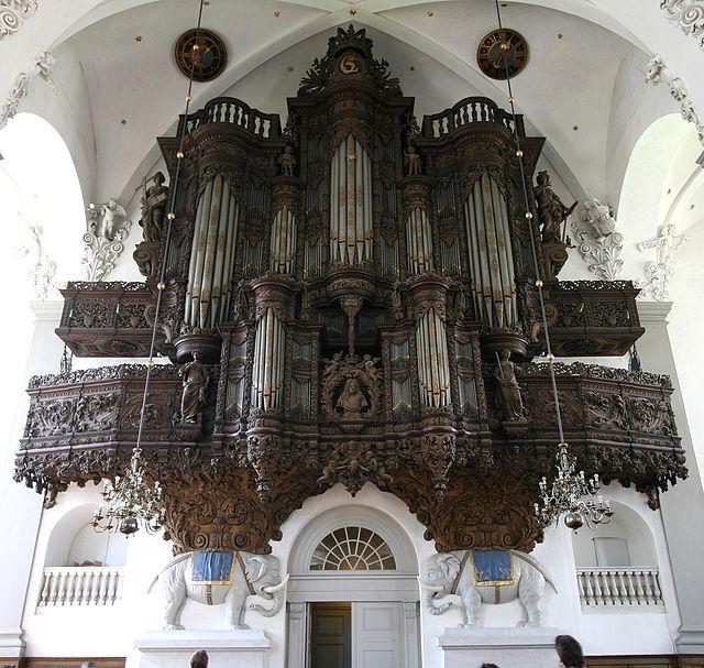 Órgano barroco de la Iglesia de San Salvador en Christianshavn