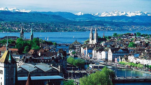 Beautiful Cities in Europe - Zurich, Switzerland