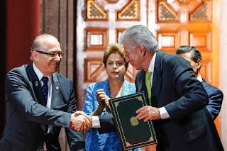 Eliseu Padilha viaja ao México com a presidenta Dilma Rousseff.