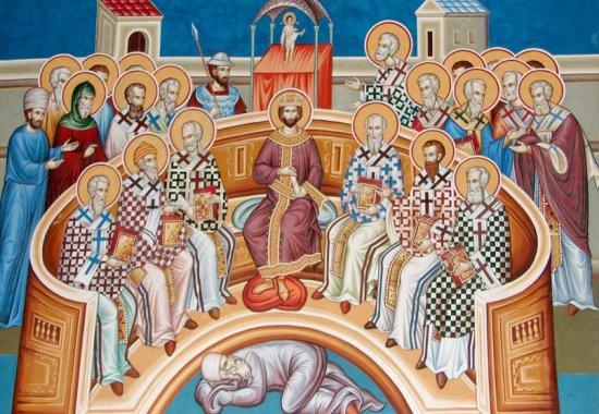Радујте се, Свети Оци похвале Никејске!