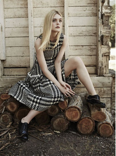 Elle Fanning The Edit Magazine September 2015 photo shoot